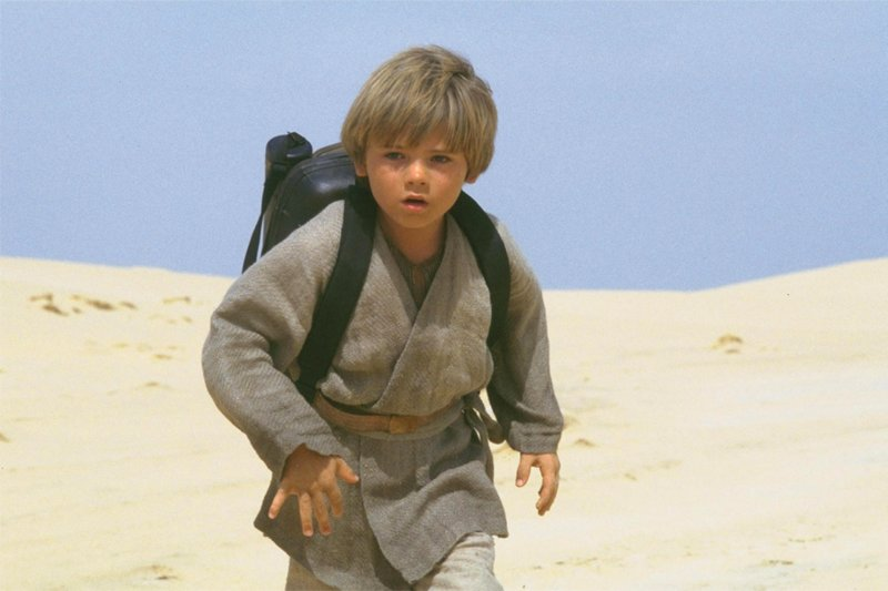 A scene from the movie Star Wars: The Phantom Menace.