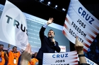 Ted Cruz is looking more likely to become the Republican candidate if the party's contest is decided at its July convention. Photo / AP