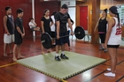 LEARNING: Kaitaia College students enjoyed specialist CrossFit instruction during Term 1. PICTURE/SUPPLIED