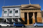 LANDMARKS: The old Bank of New South Wales (left) and the Masterton Trust Lands Trust buildings.PHOTOS/FILE