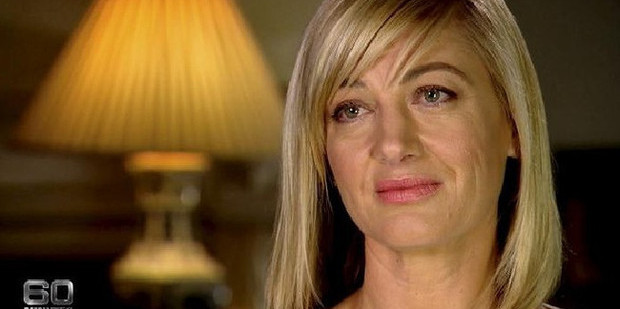 Loading Reporter Tara Brown and three other crew members have been charged. Photo: 60 Minutes/Channel 9