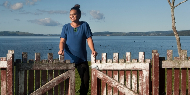 NEVER GIVE UP: Chantelle Walker is ready to open a home for young people in need. PHOTO/BEN FRASER