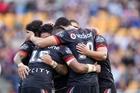 Vodafone NZ Warriors. Photo / Nick Reed.