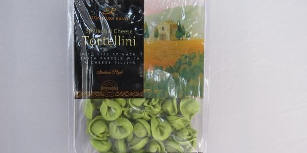 Signature Range Spinach and Cheese Tortellini $4.75 for 300g. Photo / Wendyl Nissen