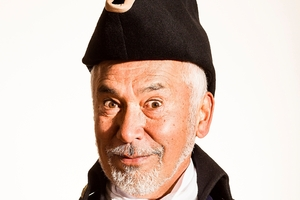 George Henare in Gilbert & Sullivan's HMS Pinafore.