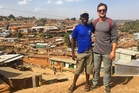 Michael Hobbs admits he was shocked by living conditions the first couple of times he walked through Nairobi's Kibera slum but he was also amazed at how happy the people were despite having so little.