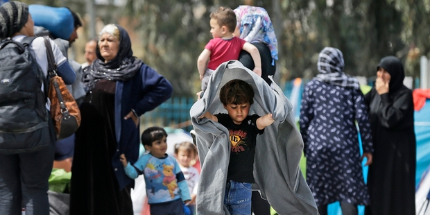 The plight of refugees like those in Greece has appalled many of those trying to help them. Photo / AP