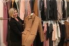 Monica Culley, manager at Kilt fashion store, shows off some their wares. Photo/John Borren