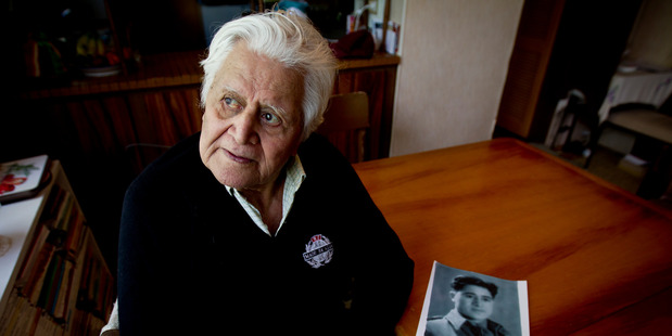 Hingangaroa Smith lied about his age and signed up for the Maori Battalion when he was only 14 years old.  Photo / Dean Purcell