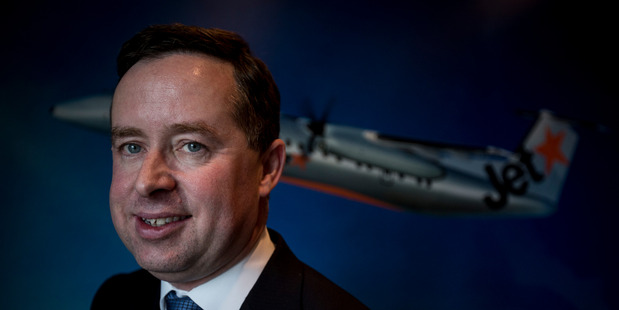 Loading Qantas' cost-cutting campaign was vital to make it competitive again, says Alan Joyce. Photo / Bloomberg