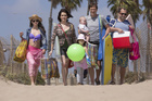 A scene from Togetherness, starring Kiwi actress Melanie Lynskey.