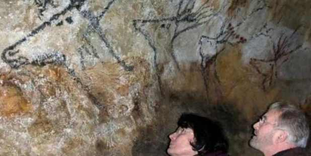 The original Lascaux Cave was closed down in 1963. Photo / Wikimedia Commons