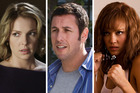 Katherine Heigl, Adam Sandler and Jessica Alba are among some of the worst reviewed actos in Hollywood.
