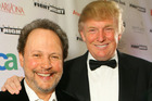 Billy Crystal and Donald Trump during Muhammad Ali's Celebrity Fight Night XIII in 2007. Photo / Getty Images