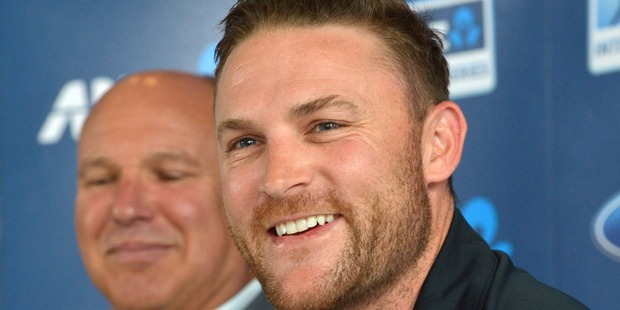 McCullum's own award was based as much on his leadership as his batting. Photo / Getty Images