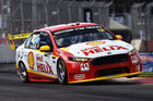 Fabian Coulthard during qualifying for the V8 Supercars Clipsal 500. Photo / Getty Images