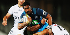Jerome Kaino charges forward. Photo / Getty Images