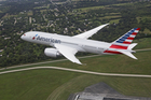 American Airlines Boeing 787.