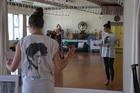 Choreographer Jessie McCall.