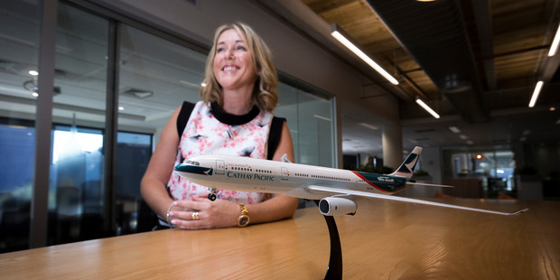 Although travel agents still have a major role, says Cathay Pacific's Vanessa Traille, so does direct advertising through digital channels. Photo / Dean Purcell