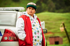 Julian Dennison stars in the Taika Waititi film, Hunt for the Wilderpeople.