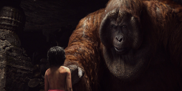 A scene from the movie The Jungle Book.