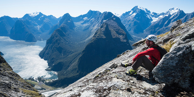 Increasing the number of helicopters that have access to Fiordland National Park has recreational mountaineers and trampers fearing the worst. Photo / Mark Watson/Highluxphoto