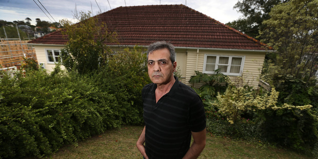 Loading Muhannad Alwahb was presented with a fait accompli: his neighbours had gained council consent for the work without his knowledge. Picture / Doug Sherring