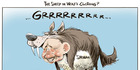 View: Cartoon: Shewan the sheep, or wolf?
