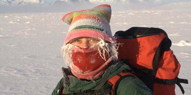 Agnieszka Fryckowska spent 34 months at UK-operated Rothera Research Station. Photo / Supplied