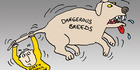 View: Cartoon: The tail still wagging the dog