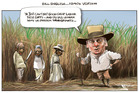 If only Bill English had been born in a century more suited to him. Illustration / Rod Emmerson