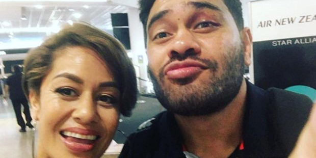 Teuila Blakely was abused after she posted a selfie with her friend, Warriors centre Konrad Hurrell last month. Photo / Instagram/Teuila Blakely