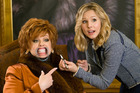 Melissa McCarthy and Kristen Bell in a scene from the movie, The Boss. Photo / AP
