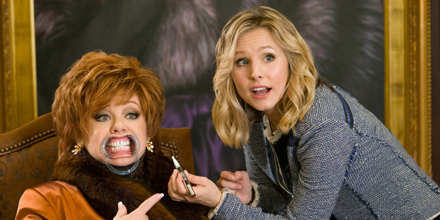 Loading Melissa McCarthy and Kristen Bell in a scene from, The Boss. Photo / AP