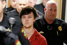 Ethan Couch is led by sheriff deputies after a court hearing in Fort Worth, Texas. Photo / AP