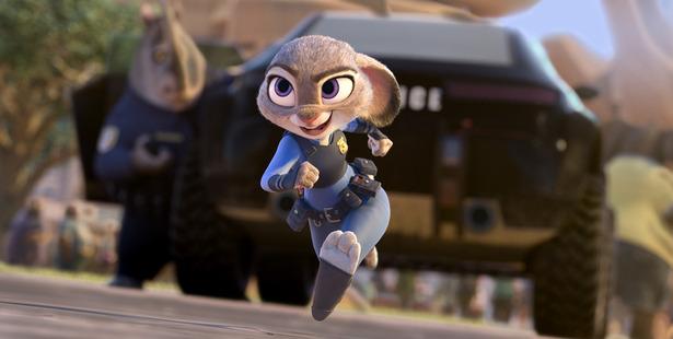 Judy Hopps, voiced by Ginnifer Goodwin.