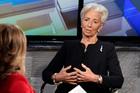 Christine Lagarde, Managing Director of the International Monetary Fund. Photo / AP