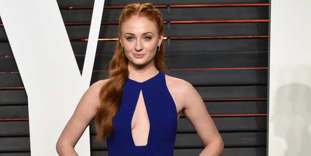 Loading Sansa Stark defended the show's graphic portrayal of real-life events. Photo / AP