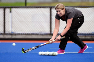 Former provincial hockey player Amanda Meys is coaching an under-18 team for Tauranga this year. Photo/George Novak