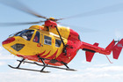 An 18-year-old female was airlifted to hospital after taking a