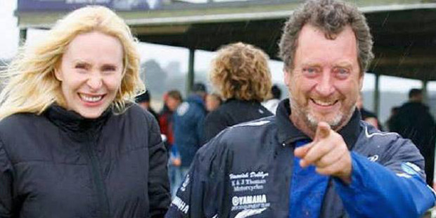 Simone Wright and Paul Bennett. Photo / Supplied