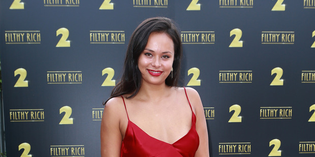She's six feet tall, she's athletic, she can act, and she's Samoan - Frankie Adams is perfect for her role as a tough Martian soldier in The Expanse. Photo / Montgomery