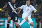 Rooney appeared to be moving freely as the striker stepped up his recovery that has raised doubts about his prospects of starting for England. Photo / Brett Phibbs