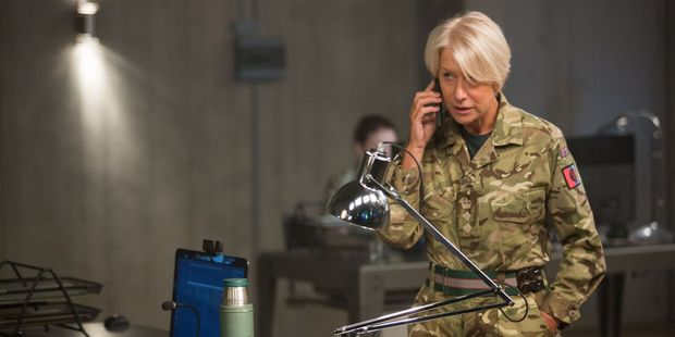 Helen Mirren stars in Eye in the Sky.