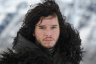 Kit Harrington as Jon Show in the TV show Game of Thrones.