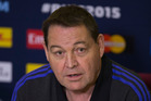 New Zealand All Blacks head coach Steve Hansen. Photo / Brett Phibbs