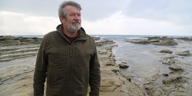 GNS Science geologist Dr Hamish Campbell.