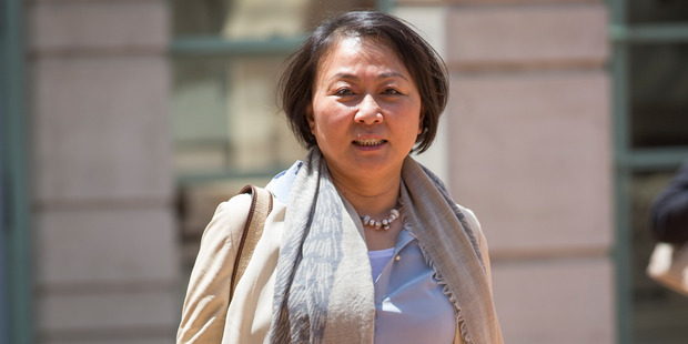 May Wang has been on trial since October. Photo / Nick Reed