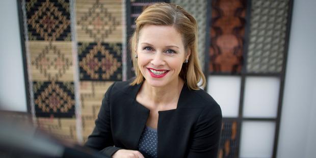 Journalist and television presenter Mihingarangi Forbes. Photo / Sarah Ivey